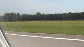 USAirways Landing ILM(Wilmington)