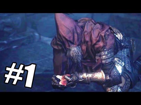 WEIRD OLD GUY | Dark Souls 3 Ashes of Ariandel DLC - Part 1