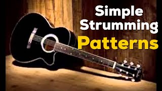 Download Try These Simple STRUMMING PATTERNS for Beginners   Matt McCoy Mp3 and Videos