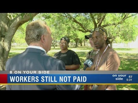 Workers Still Not Paid