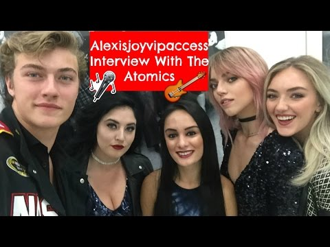 The Atomics Interview - Alexisjoyvipaccess -Lucky Blue Smith,Pyper America,Daisy Clementine,Starlie