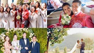 Tin sao việt | Đám cưới Mc Hoàng oanh đẹp đôi bên chồng Tây 💕| oanh Ta usa
