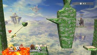 【スマブラ for WiiU】 まるで立体機動装置!?新感覚 ワイヤー復帰遊び 【バグ】 thumbnail