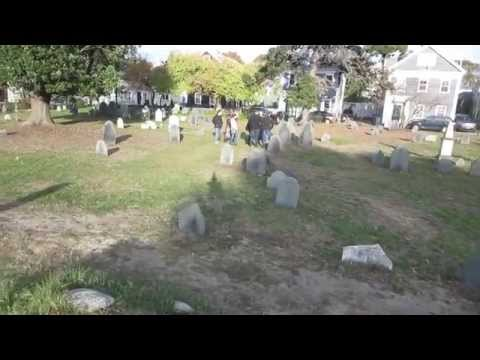 Salem Witch Trials of 1692 - Giles Corey, Howard Street Cemetery, Salem Town, Massachusetts