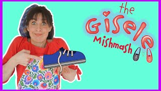 Show To Teach How To Tie Shoes | SIMPLEST WAY TO TIE LACES | The Gisele Mishmash
