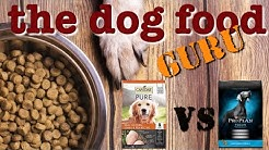 Canidae vs Pro Plan dog food mashup