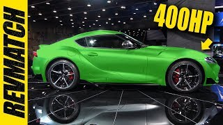 2020 Supra Actually Makes 400 Horsepower! Not Clickbait