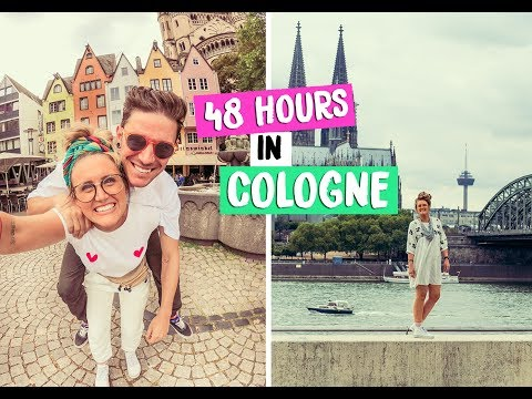 48 HOURS IN COLOGNE - GERMANY! EUROTUNNEL ROAD TRIP PT. 3 #AD