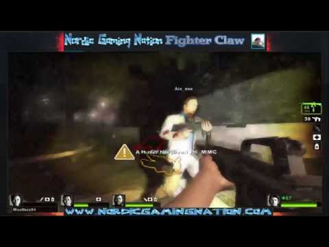 Nordic gaming nation playing Left4dead2