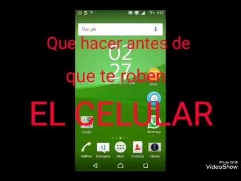 Que hacer antes de que te roben el celular!! Colombia