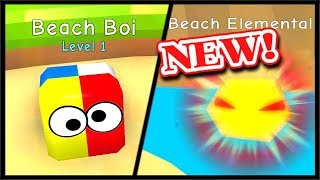 BEACH WORLD UPDATE! - Beach Elemental Legendary Pet | Bubble Gum Simulator Roblox