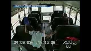 School Bus Driver Is Caught On Camera CHOKING A CHILD!!!!