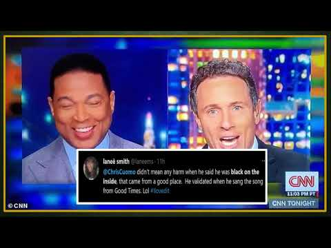 Chris Cuomo Says He's Black On The Inside & Gets Praised By Black People