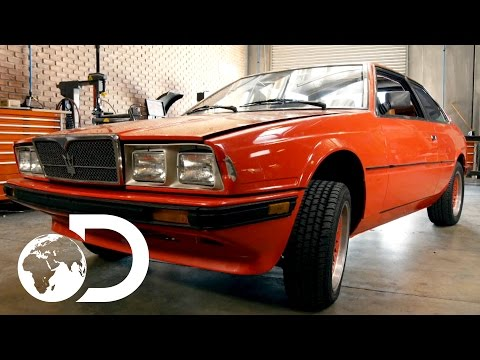Mike discovers A 1985 Maserati Bi-Turbo | Wheeler Dealers, Monday's 9PM