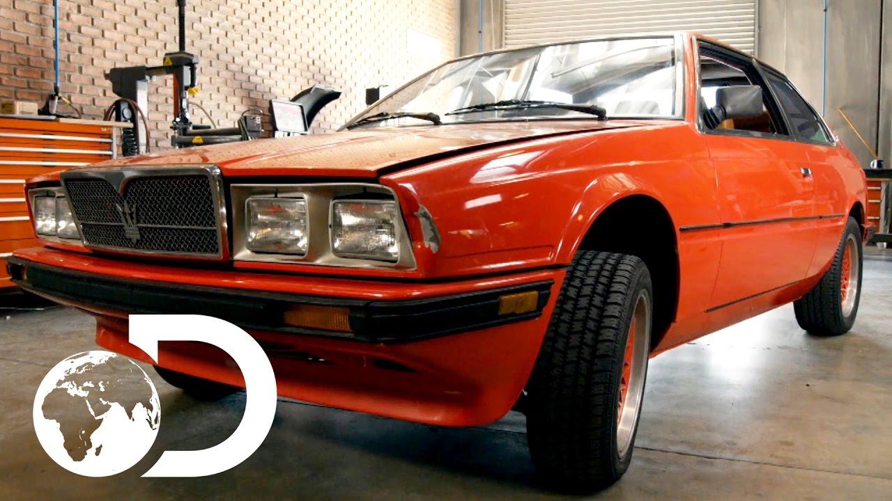 Mike discovers A 1985 Maserati Bi-Turbo | Wheeler Dealers, Monday's