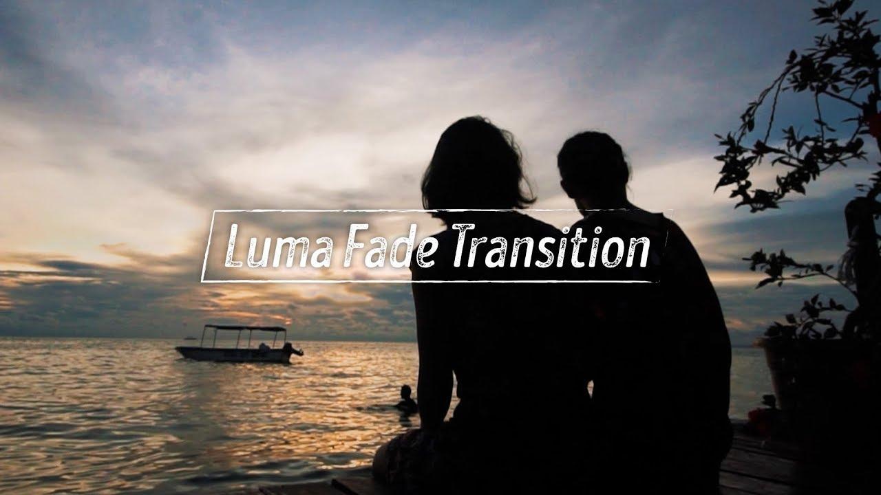Hướng dẫn hiệu ứng chuyển cảnh Luma Fade Transition // Adobe Premiere CC