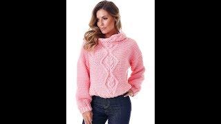 Вязание Спицами Свитеров, Джемперов, Пуловеров - модели 2019 / Knitting Needles Sweaters