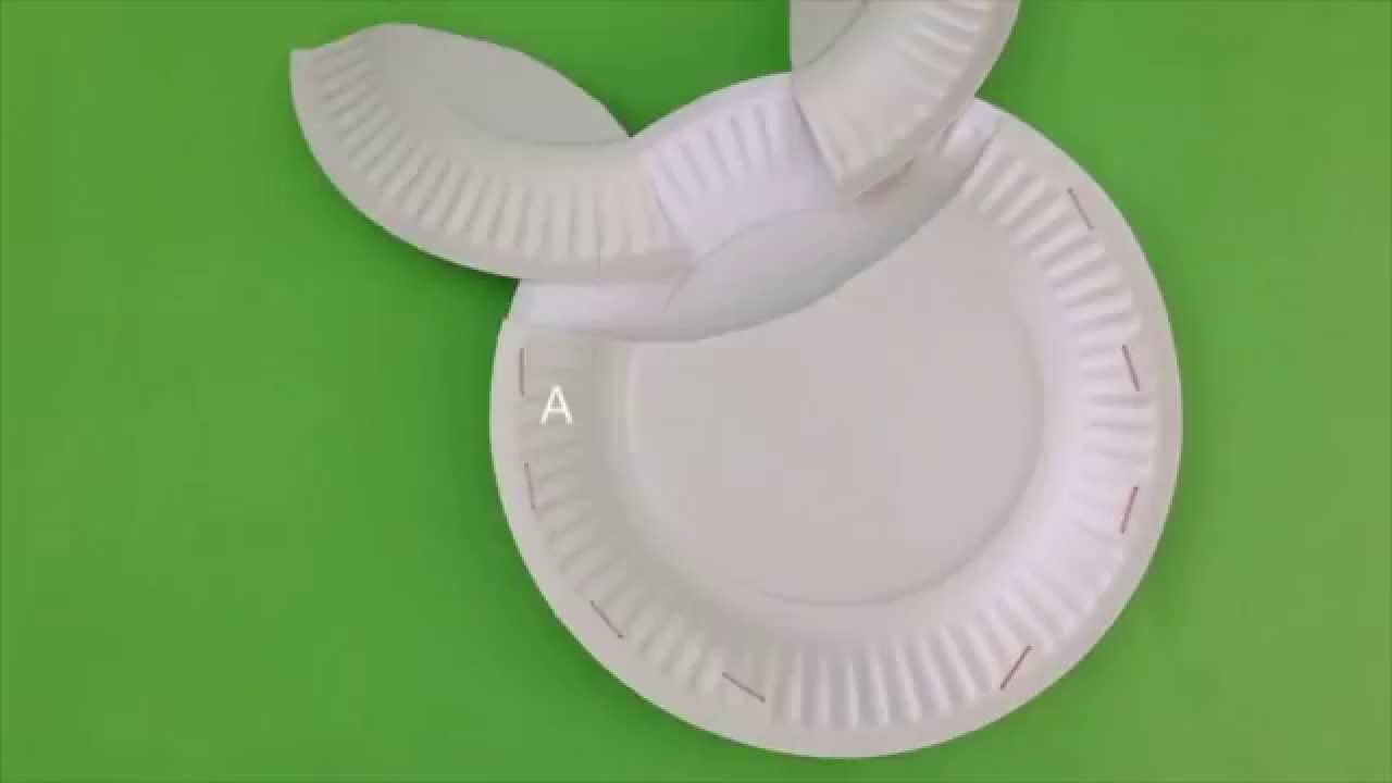 how to make seashells out of paper plates