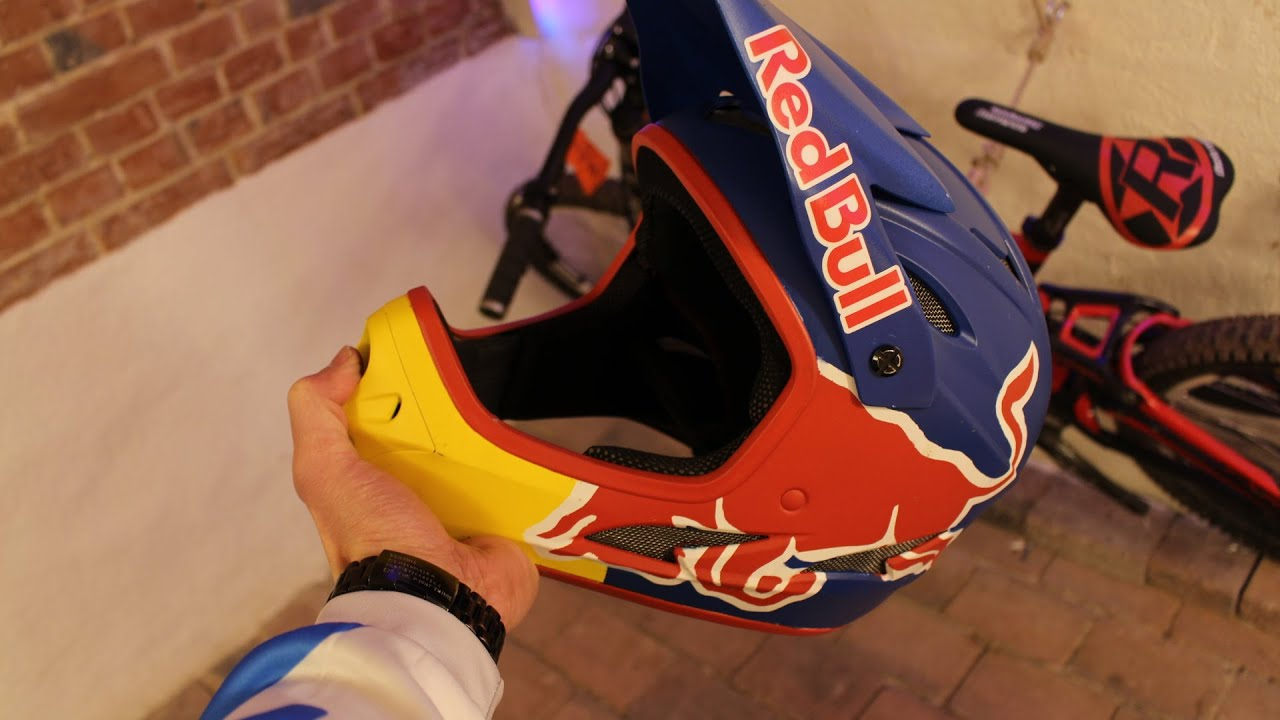 how to make your own red bull helmet
