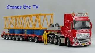 Tonkin Volvo FH + Nooteboom Multi-PX 6+2 Trailer by Cranes Etc TV
