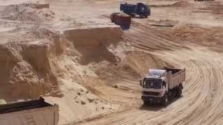 Suez Canal new: a scene in the dig September 25, 2014