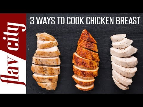 How to make healthy flavorful chicken breast