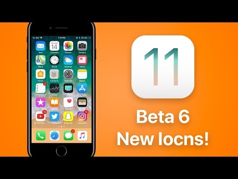 Apple Releases New App Icons With iOS 11 Beta 6!