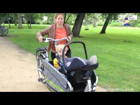 Bakfiets review Gazelle Cabby