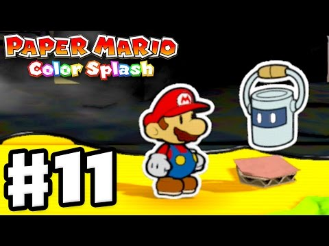 Paper Mario: Color Splash - Gameplay Walkthrough Part 11 - Sunglow Ridge 100%! (Nintendo Wii U)