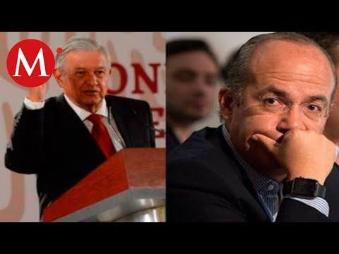 AMLO se burla de Calderón, lo llama comandante 'Borolas'