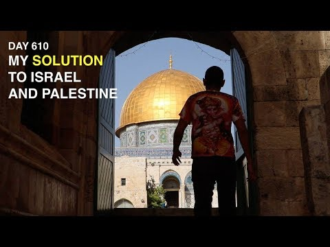 My solution to Israel and Palestine | Nas Daily