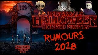 Halloween Horror Nights 2018 - Rumored Houses (ft. Dead Meat)