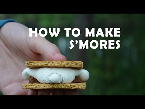 how to cook s mores in the microwave