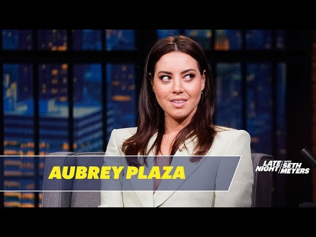 Aubrey Plaza Believes Robots Will End Humanity