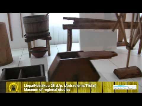 Utenos kraštotyros muziejus. Museum of regional studies of Utena. 2011.07.26