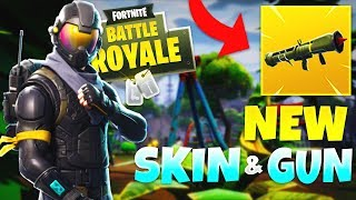 *NEW* GUIDED MISSILE LAUNCHER & ROGUE AGENT SKIN in Fortnite: Battle Royale! #SoaRRC