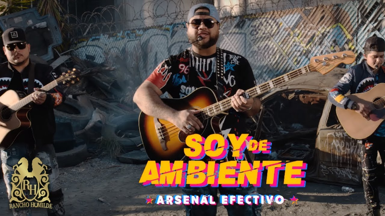 Arsenal Efectivo - Soy De Ambiente (En Vivo) - YouTube