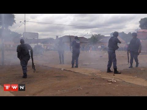 Xenophhobic march  turn violent in Pretoria