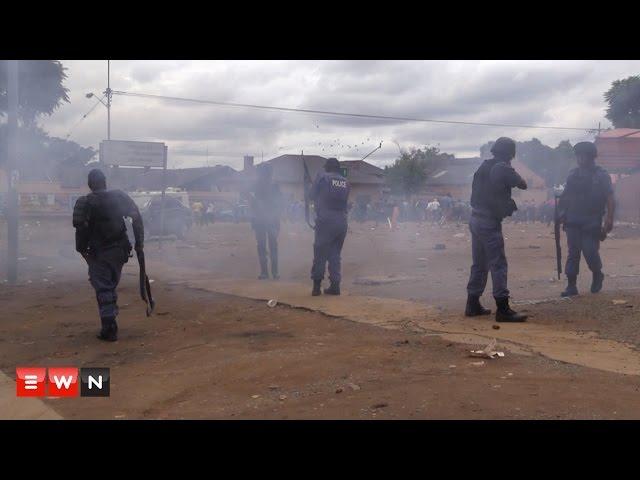 Xenophhobic march  turn violent in Pretoria, South Africa