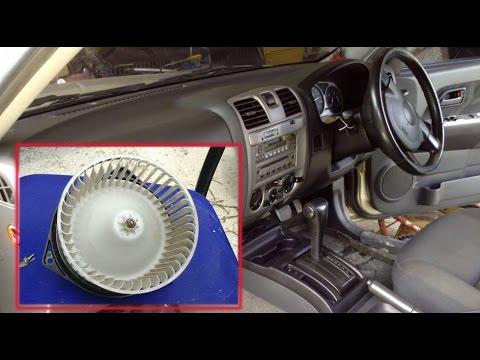 วิธีถอดล้างพัดลมแอร์รถ แก้ปัญหาแอร์มีกลิ่นมีเสียงดัง clean ...