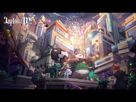 Laplace M - Gameplay_[Lvl.1-9] English version [Role Playing game]