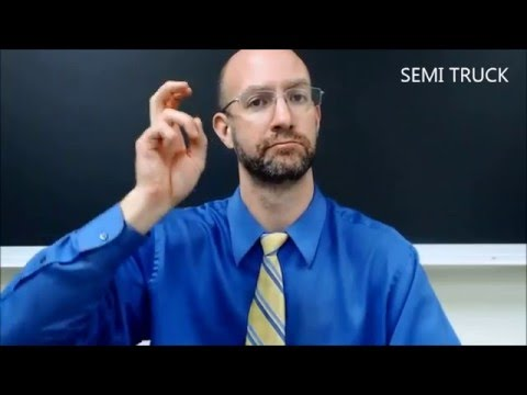 Getting Around Town Vocabulary | ASL - American Sign Language