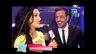 Micheille Soifer entrevisto a William Levy @willylevy29 #HombreMagnat #TourMagnat || ATV