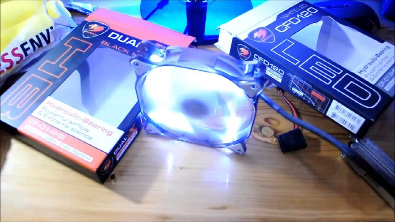 Cougar Dual X Fan Pinoy Unboxing By Patrick Tamayo Deepcool Xfan 12cm Casing Red Led