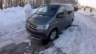 Volkswagen Multivan (Супер Caravelle) - в аэропорт на максималке?