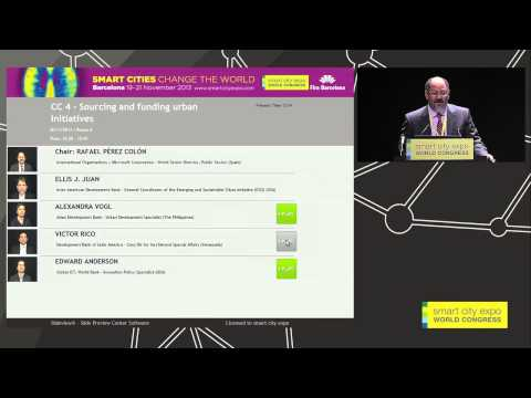 Smart society & Collaborative city. CC 4 - Sourcing and funding urban initiatives
