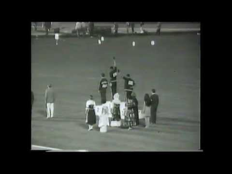 1968 Olympics 100m & 200m (Black Power Salute)