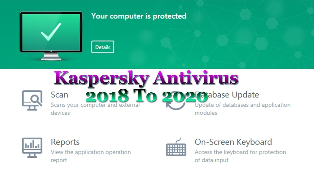 kaspersky antivirus 2018 activation key