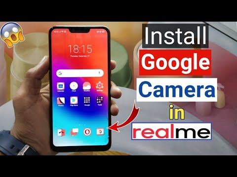 How to Install Google Camera in RealMe Devices (Best Camera