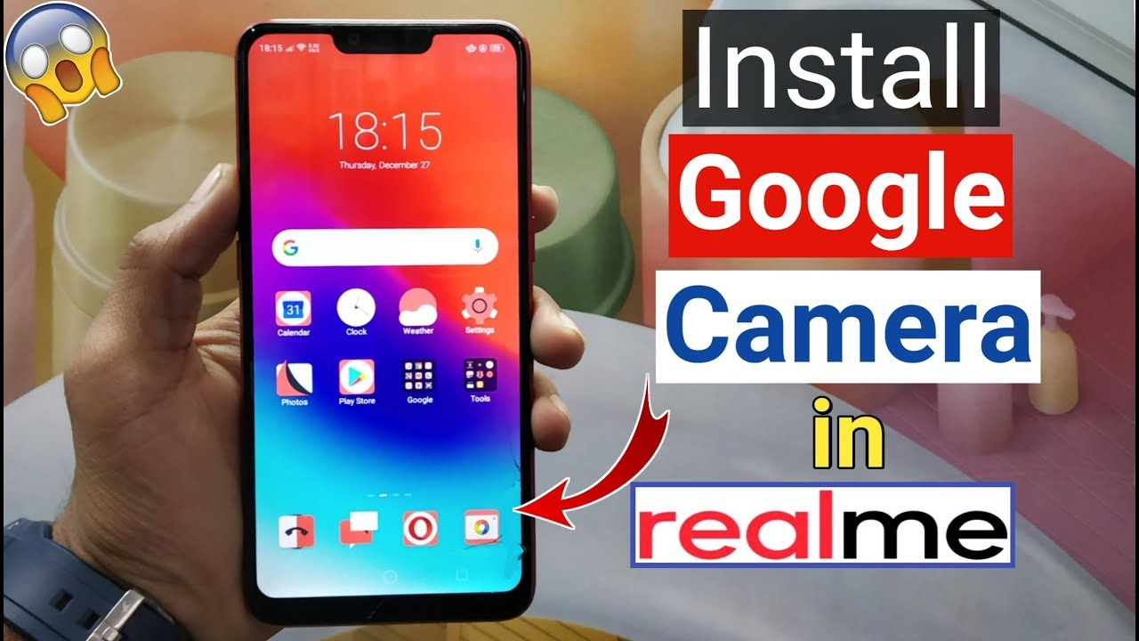 How to Install Google Camera in RealMe Devices (Best Camera Apk)